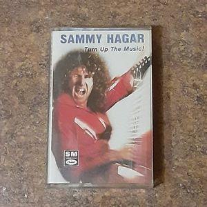 "Sammy Hagar ""Turn Up The Music!"" Cassette Tape"